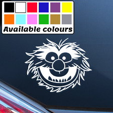 ANIMAL MUPPETS FUNNY CAR WINDOW BUMPER STICKER VINYL DECAL