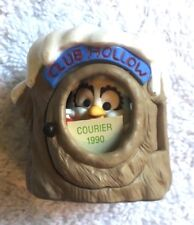 """Hallmark Collector's Club Ornament-""""Club Hollow"""" 1990-Member's Only-Box"""