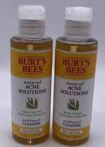 2-Burt's Bees Natural Acne Solutions Purifying Gel Cleanser
