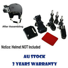 Adjustment Curved Adhesive Front Mount for GoPro Hero 1 2 3 3+ 4 Helmet Session