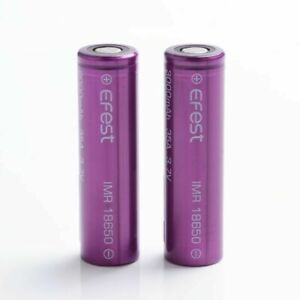 2 x REPLACEMENT E FEST 3000 MAH 35A 3.7V RECHARGEABLE BATTERY UK SELLER