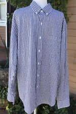 NWT J CREW CLASSIC MENS SHIRT FIT BUTTON DOWN SIZE XL COLOR DARK GREY AND WHITE