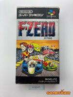 F-ZERO Nintendo Super Famicom SFC JAPAN Ref:315247