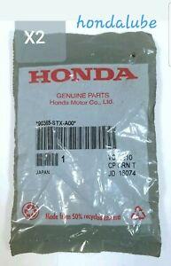 New Genuine Honda OEM ball-joint  Castle Nut (14mm) x 2