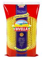 Divella Italian dry pasta Long Fusilli with Hole - 10 bags x 1 Lb (TOT. 10 lbs)