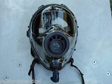 Sge 400 40mm Nato Gas Mask w/Drinking System & Nbc/Cbrn Filter, exp 09/2023 New