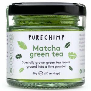 Matcha Green Tea Powder - PureChimp™ Super Tea 50g - Ceremonial Grade