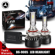9005 High Beam CSP LED Headlight Bulb Conversion Kit For Volvo VNL VN 2003-2015