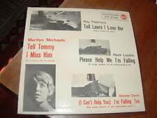"""RAY PETERSON """"TELL LAURA I LOVE HER (DITE A LAURA CHE L'AMO)""""E.P.  ITALY'60 RARO"""