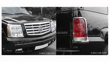 Cadillac Escalade 02-06 Headlight & Taillight Chrome Trim Surround Package