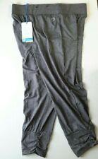 Energetics Women's Leggings 3/4 Leg Gym Yoga Bottoms Grey UK 16 Akalia 3 Defect