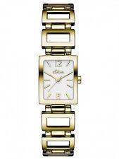 s.Oliver Damenuhr Uhr Armbanduhr Goldfarbend Damen Analog SO-3029-MQ