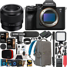 Sony a7S III Mirrorless Full Frame Camera + 50mm F1.8 Lens SEL50F18F Kit Bundle