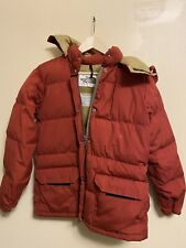 Vintage 70s The North Face Brown Puffer jacket Sz Medium