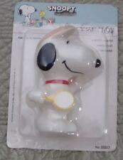 NEW 4 1/2' SQUEEZABLE TENNIS PLAYING SNOOPY FROM DANARA TOYS