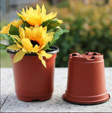 "20pcs/Set Durable 4"" Inch PLASTIC FLOWER NURSERY POTS Wholesale Home Decors"