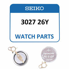 3027 26Y For 1M20 Seiko Genuine Watch Capacitor