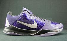 Nike Kobe 5 V Ink Purple House Of Hoops NYC PE player display sz 14