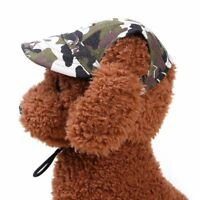 Hat Small Dog Cat Summer Puppy Pet Products Canvas Hat Outdoor Accessories