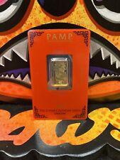 5 Gram Gold Bar - Pamp Lunar Dragon 2012 - 99.99 Gold Bar in Assay