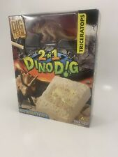 The Dig Team Diplodocus 2 in 1 Dino Dig Ages 6+ Dig Build Play Dinosaurs