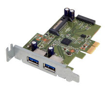 HP USB 3.0 SuperSpeed Low Bkt PCIe Card New HI343-1LP