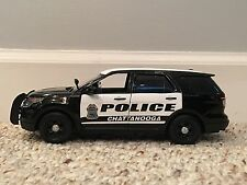 Chattanooga Tennessee Police Department SUV diecast car Motormax 1:24 scale
