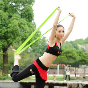 Tension Pull Strap Stretching Belt Non-Slip Yoga Riband Fitness Sport Band #WL