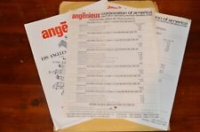 Angenieux Motion Picture Lens 1974 Price List Vintage