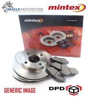 NEW MINTEX REAR 302MM BRAKE DISCS AND PAD SET KIT GENUINE OE QUALITY MDK0257