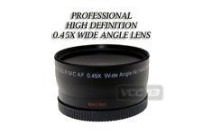 58mm Vivitar 0.43x Wide-Angle W/ Removable Macro 4 Canon 18-55mm T1i XSi XTi