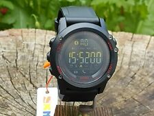Skmei Mens Digital Black Military Style Smart Watch Activity Tracker iOS ANDROID
