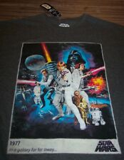 VINTAGE STYLE STAR WARS A NEW HOPE T-Shirt Luke Skywalker Leia LARGE NEW w/ TAG