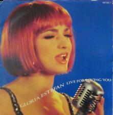 "Gloria Estefan(7"" Vinyl)Live For Loving You-Epic-657382 7-Holland-1991-Ex/NM"
