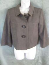 Style & co Size 4 Loft Tweed Jacket NWT 3/4 Sleeve Fully Lined