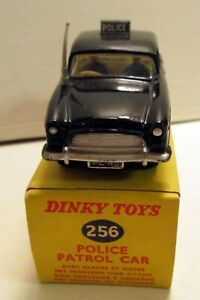 Dinky Toys 256 Humber Hawk Police Car,    original