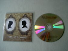THE CIVIL WARS Poison & Wine EP (UK 2012 Cover Versions) promo CD single