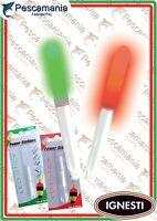 Starlight Led stick mm 4,50 verde / rosso star light elettronica pesca