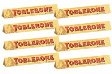 Toblerone Swiss Milk Chocolate Honey and Almond Nougat, 100g/3.52oz, 8ct