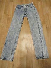 Vintage Levis 501 Acid Wash Jeans 25 X 29 Mom Boyfriend denim USA womens