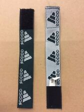 adidas Soccer Jersey Sleeve Bands (T-Rap), pack of 2, Forest Green/White