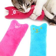 Catnip Pillow Pet Cat Toy Chew Crazy Grinding Scratch Play Plush Teeth Toys Soft
