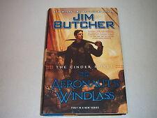 AERONAUT'S WINDLASS--SIGNED by JIM BUTCHER--1ST--HARDCOVER