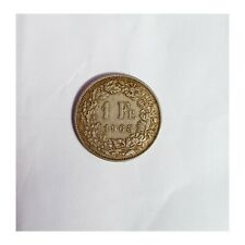 Rare Unique Collection Coin 1 Fr. 1968 in honor of HELVETIA female
