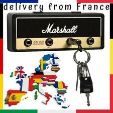 Porte-clés Mural Ampli Marshall 4 Guitares Jack Standard Kit Fixation Murale
