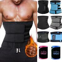 Waist Trainer Cincher Sauna Sweat Belt Sports Body Shaper Men Shapewear Slimming