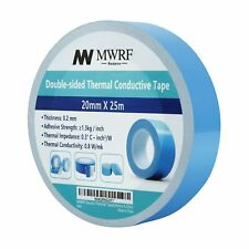 """20mm X 25m (0.79"""" x 82') Thermal Conductive Adhesive Tape for Coolers, Heat Sink"""