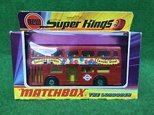Matchbox Lesney K-15 Super Kings The Londoner Bus ovp