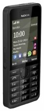 New Condition Nokia 301 Black (Unlocked) Cheap Basic Mobile Phone
