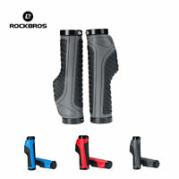 RockBros Cycling Bicycle Handlebar Grips Double Locking Non-slip Grips Soft